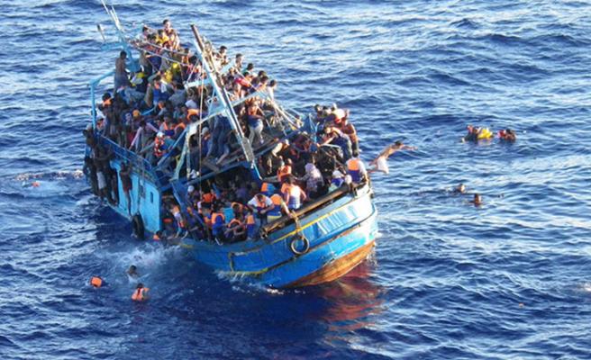 Sığınmacı teknesi battı: 81 kayıp