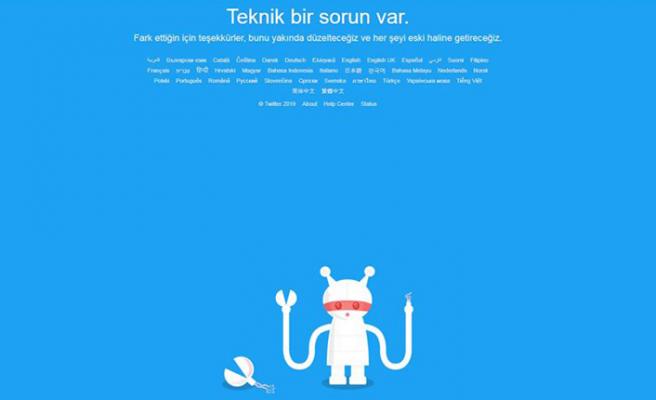 Twitter'a erişim sıkıntısı yaşanıyor