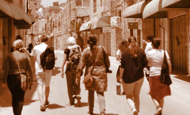 Yahudi gençlere 'İsrail işgali' dersi