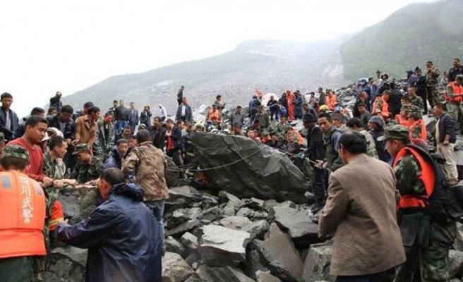 Çin'de toprak kayması: 7 ölü
