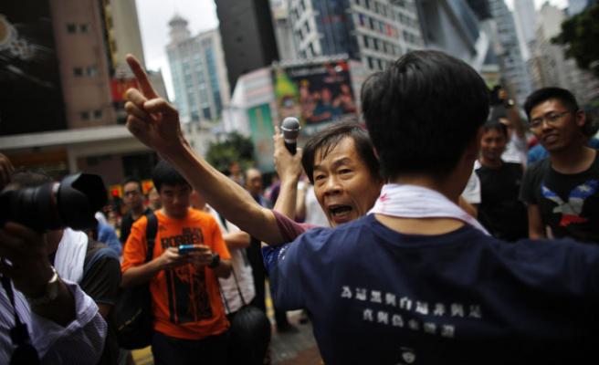 Çin'den Hong Kong gösterilerine 'terör' yorumu!