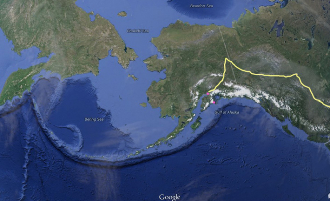 Rus jetleri Alaska semalarında!