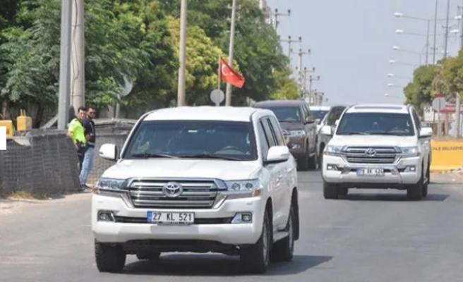 Şanlıurfa sınırında askeri bölge hareketliliği