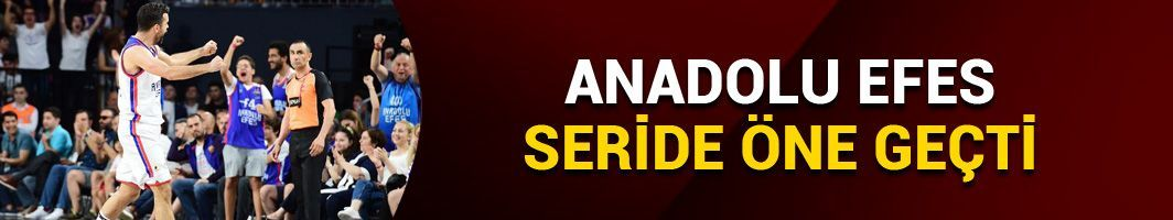 Anadolu Efes seride 3-2 önde