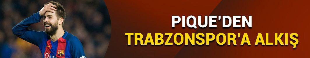 Pique'den Trabzonspor paylaşımı