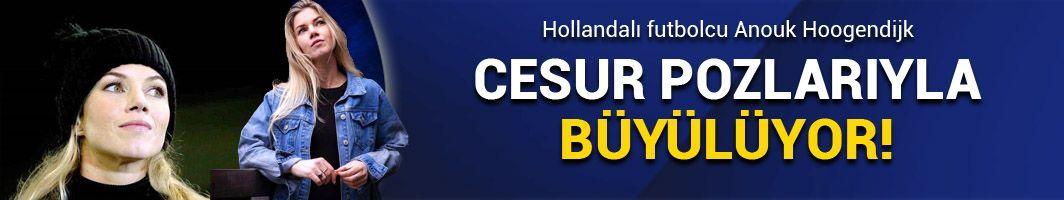 Hollandalı futbolcudan cesur pozlar