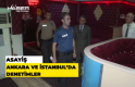 Ankara ve İstanbul'da asayiş denetimleri