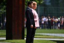 Merkel'in zor anları