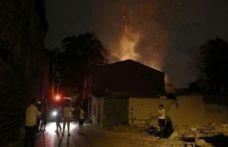 Fatih'te gecekondu yangını: 1 ölü