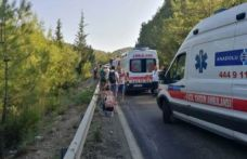 Antalya'da tur otobüsü şarampole uçtu!