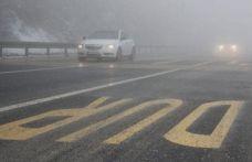 Bolu Dağı'nda yoğun sis!