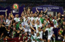 Cezayir'de ikinci şampiyonluk sevinci