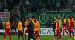 A.Konyaspor-Galatasaray maçından kareler