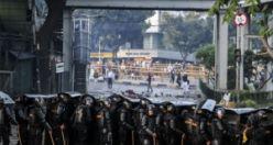 Endonezya seçimleri sonrası sokaklar karıştı