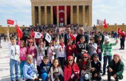 Anıtkabir'de 23 Nisan coşkusu
