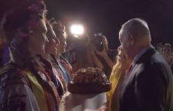Kiev'de Sara Netanyahu krizi: Ekmeği yere attı!