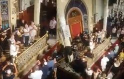 Sinagog'da 30 Ağustos İzmir Marşı ile kutlandı