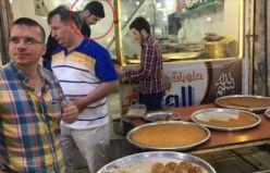 Suriyeli tatlıcının duygulandıran görüntüleri