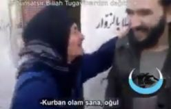 Türkmen ninenin sözleri ağlattı