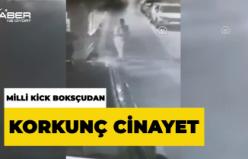 İstanbul Kadıköy'de cinayet anı