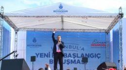 """İmamoğlu'ndan """"İstanbul'da yeni bir başlangıç"""""""