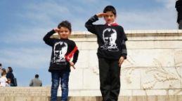 Anıtkabir'den 23 Nisan kareleri