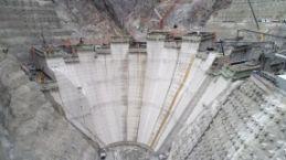 Türkiye'nin en yüksek barajında yüzde 27 tamamlandı