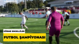Görme Engelli Futbol Milli Takımı, Belçika'yı 1-0 yendi