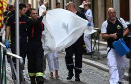 Fransa'da korkutan patlama