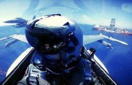 F-16'lardan Çipras'a mesaj: Yavuz'a selam,...