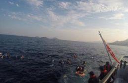 Sığınmacı teknesi battı:  12 ölü