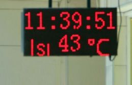 Termometreler 43 dereceye vurdu
