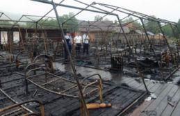 Çocuk kampında yangın: 4 çocuk öldü