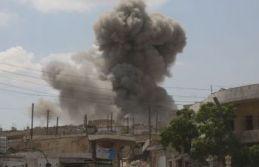 Esed rejimi İdlib'i vurdu: Ölü ve yaralılar var