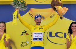 Fransa'da 13. etabın galibi Julian Alaphilippe