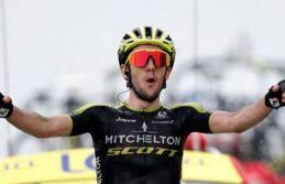 Fransa'da 15. etabın galibi Simon Yates