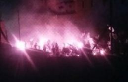 Rumlardan Türk sınırına molotoflu saldırı