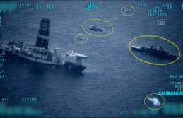 Sondaj gemileri için düşmana korku veren koruma!