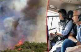 İzmir ve Manisa'da dev yangın... 100 hektar!