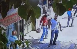 Şehrin ortasında Suriyeli kavgası