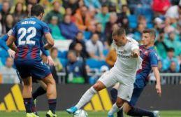 Real Madrid Levante'ye puan vermedi