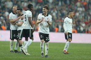 Beşiktaş-MKE Ankaragücü maçından kareler