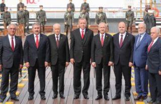 Liderlerden Samsun'da 'beraberlik'...