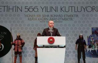 Erdoğan: İstanbul'u asıl kimliğine kavuşturduk