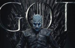 Game of Thrones dizisinin kötü karakteri Night King...