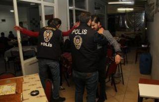 Kumar denetiminde 113 kişi gözaltına alındı