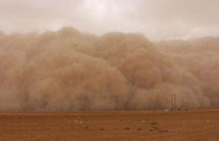 Meteoroloji uyardı... Toz fırtınasına dikkat!