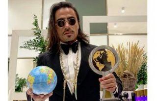 Nusret Cannes'dan ödülle döndü