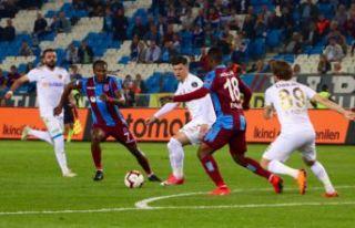 Trabzonspor'dan dört gollü galibiyet