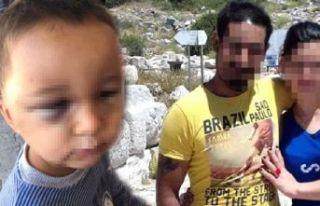 3 yaşındaki çocuğunu acımasızca dövdü